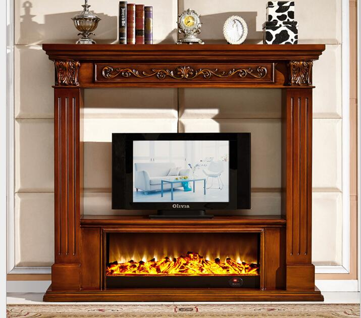 arca tv mdf material de estilo de europa de la repisa de la chimenea chimenea elctrica chimenea de madera muebles de la sala de