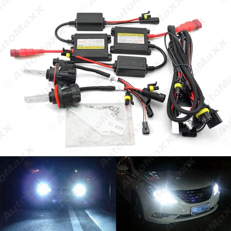 Car Headlight H13 HID Xenon Bulb Hi/Lo Beam Bi-Xenon Bulb Light 35W DC12V Slim Ballast HID Kit #J-4531  car headlight hid xenon kit slim ballast 12v 35w dc h4 3 9004 3 9007 hi lo 9012 5012 h13 bi xenon hi lo