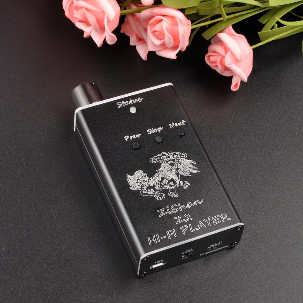 Новый Zishan Z2 MP3 проигрыватель профессиональный без потерь HiFi переносной плеер Поддержка усилитель для наушников ЦАП AK4490 Z1 Обновление версии