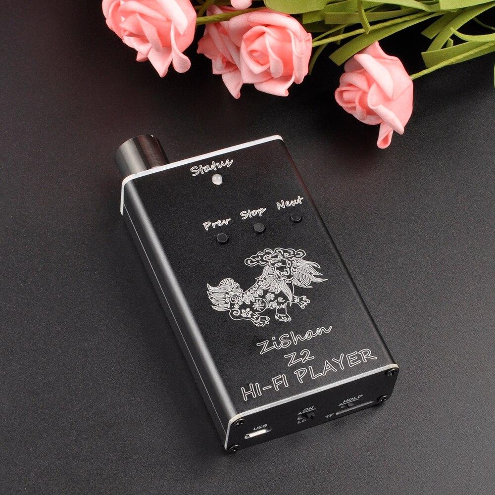 AK New Zishan Z2 MP3 Player Professional Lossless HiFi Protable Player Support Headphone Amplifier DAC AK4490 Z1 Upgrade Version