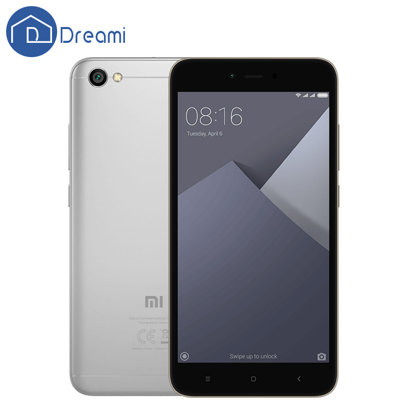 Global Version Dreami Original Xiaomi Redmi Note 5A 2GB 16GB Quad Core 5.5 Inch 13MP Snapdragon 425 FDD-LTE 2+1 Card Slot - Store store