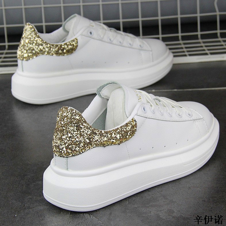 New Fashion Vulcanize Shoes Trainers Women Sneakers Casual Shoes Basket Femme PU Leather Tenis Feminino Zapatos Mujer Plataforma 55