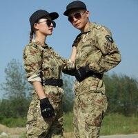 Outdoor boa muster camouflage anzug camouflage jagd männer und frauen militär uniformen special forces training tragen-in Jagd-Tarnanzug aus Sport und Unterhaltung bei