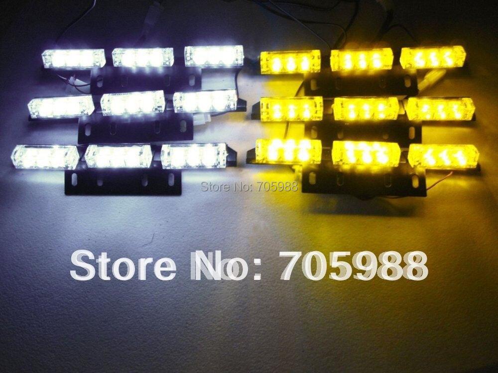 Λευκό Κεχριμπάρι πράσινο μπλε 6x9 LED - Φώτα αυτοκινήτων - Φωτογραφία 2
