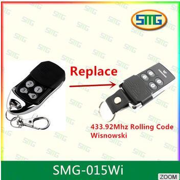 2x wisnowski Совместимость гараж дистанционного управления 433.92 мГц плавающий код ...
