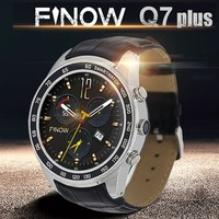 FINOW Q7 Plus IP65 Waterproof Smart Watch Bluetooth 4.0 3G 1.3 inch Android 5.1 1.3GHz Quad Core with 0.4MP Camera GPS