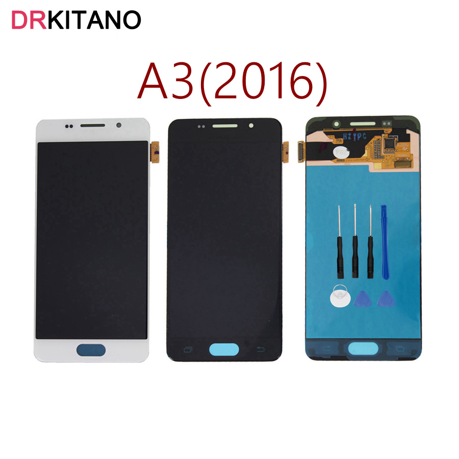 for samsung galaxy a3 2016 lcd a310 a310f sm a310f display touch screen digitizer assembly. Black Bedroom Furniture Sets. Home Design Ideas