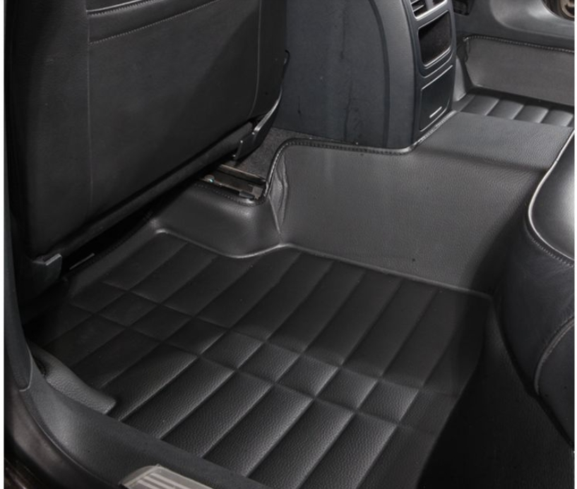Grey Waterproof Rear Back Seat Covers For Audi A7 11 M18
