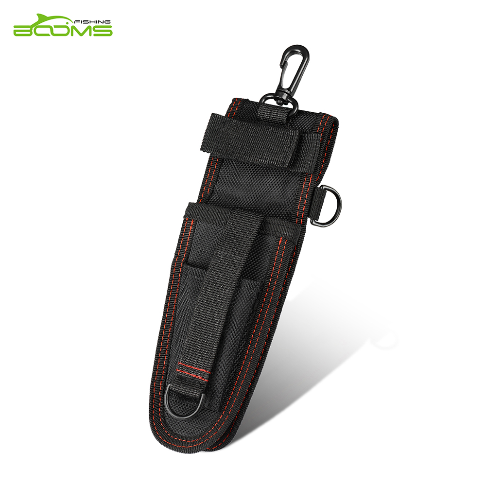 Booms Fishing P02 Tool Sheath Designed for Fishing Pliers and Fish Grip booms fishing hs1 multi groove fish hook sharpener with lanyard