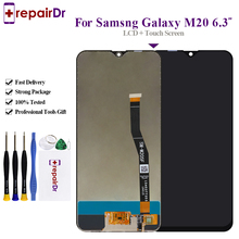 100% Tested For Samsung M20 Lcd Display Touch Screen Digitizer Assembly M20 Display m205f 6.3''For Samsung Galaxy M20 Lcd Screen
