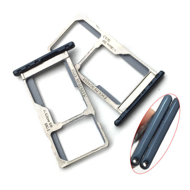US $3 15 16% OFF|Single /Dual SIM For Motorola Moto G6 Play SIM Card Holder  Tray Slot Adapter Socket Replacment Parts-in SIM Card Adapters from