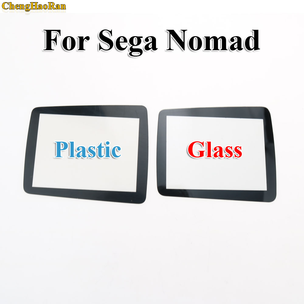 High quality Plastic Glass Screen Protector Cover Lens replacement film for Sega Nomad handheld game player console image