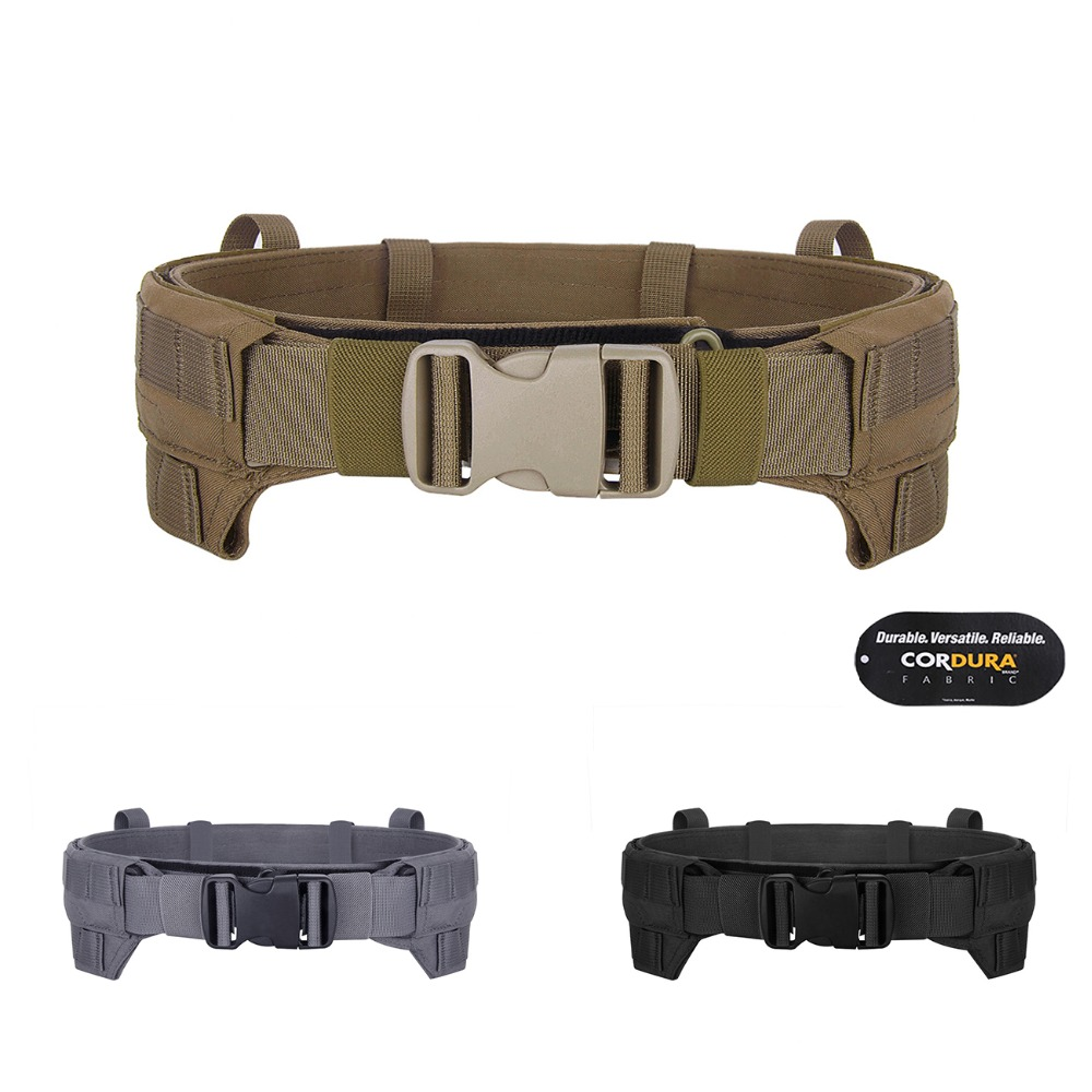Emerson Tactical MRB MOLLE Lightweight Belt Modular Rigger's Belt EmersonGear Inner And Outer Airsoft Combat Belt Coyote Brown
