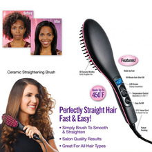 Simply Straight hair straightening irons the ceramic brush quality results in