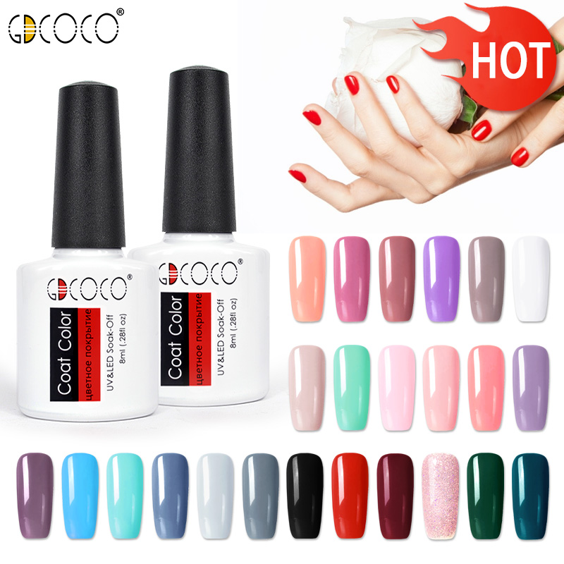 GDCOCO soak off  Base Gel Top Coat Matte Top Gel polish Nail Gel lacquer 8 ml manicure wholesale long lasting Nail color gel-in Nail Gel from Beauty & Health on Aliexpress.com | Alibaba Group