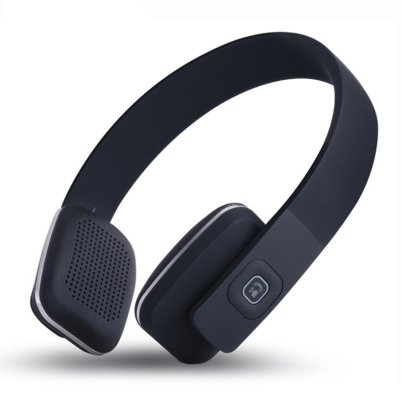Simple Style Headset BOAS LC-8600 Solid Color Wireless Bluetooth 4.1 Stereo Over Earphone Headphone Computer Headphone With Mic image