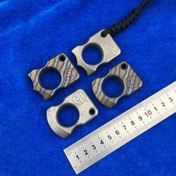 LEMIFSHE Andy Frankart TC4 tytanowy dziurkacz zewnętrzna klamra survival EDC multi tool w Zestawy narzędzi ręcznych od Narzędzia na