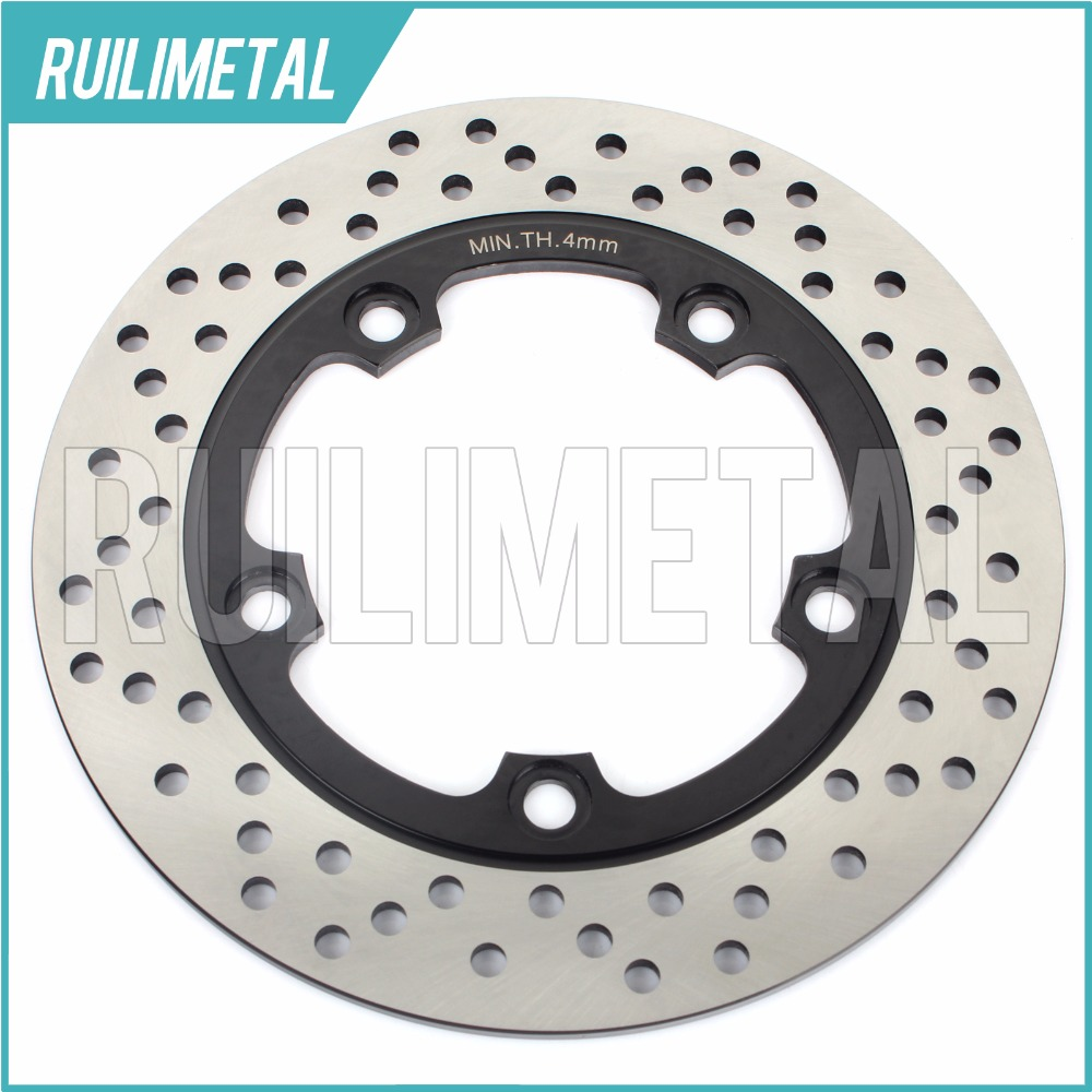 Rear Brake Disc Rotor for YZF-R6 YZF-R6 S 2003 2004 2005 2006 2007 2008 2009  YZF R6 S 50th Anniversary Rad Cal. 2006 06 motorcycle part front rear brake disc rotor for yamaha yzf r6 2003 2004 2005 yzfr6 03 04 05 black color