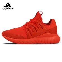 sports shoes ba06e aa3a6 Zapatillas Tubular Radial Adidas hombres corriendo zapatos de deportes al  aire libre, zapatillas Zapatos rojo anti-slip absorció.