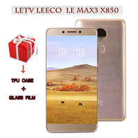 Original Letv LeEco RAM 6G ROM 64G Snapdragon 821 le Max3 X850 FDD 4G Cell Phone 5.7 Inch 2560x1440 3900mah PK X820 X900 mobil