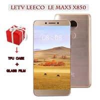 Original Letv LeEco RAM 6G ROM 64G Snapdragon 821 le Max3 X850 FDD 4G téléphone portable 5.7 pouces 2560x1440 3900 mah PK X820 X900 mobil