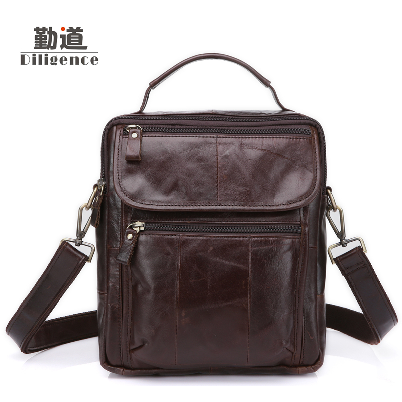 Men's Genuine Leather Handbags Vintage Fashion Shoulder Bags New Style Totes Clutch Strap Bolsa Feminina high Quality Cowhide men s genuine leather handbags vintage fashion bolsa feminina casual 2017 new style messenger bag clutch shoulder bags office