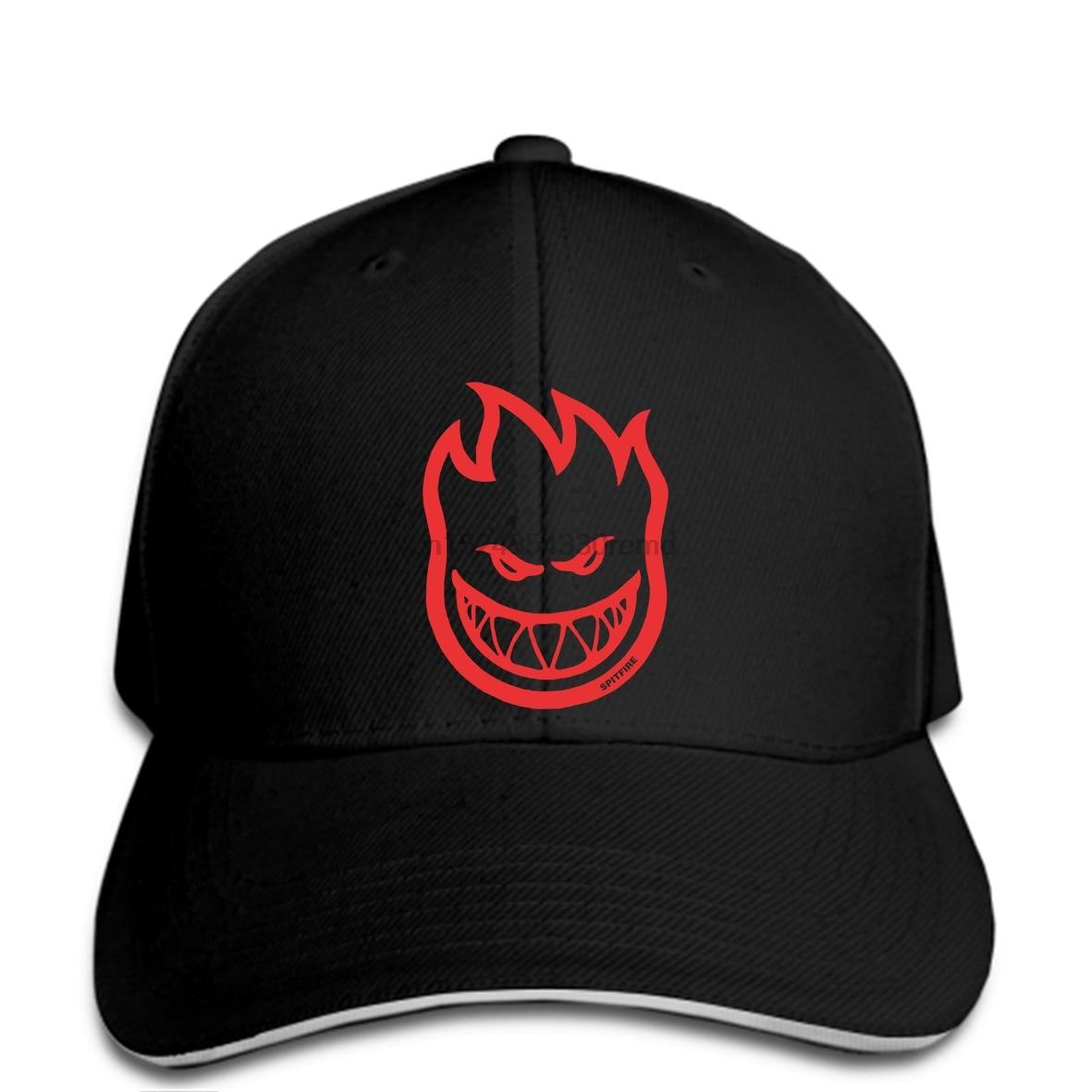 c3e67c7e870 hip hop Baseball caps Funny Men hat cap Black SPITFIRE Maglietta Bighead S  Grigia Silver Mens