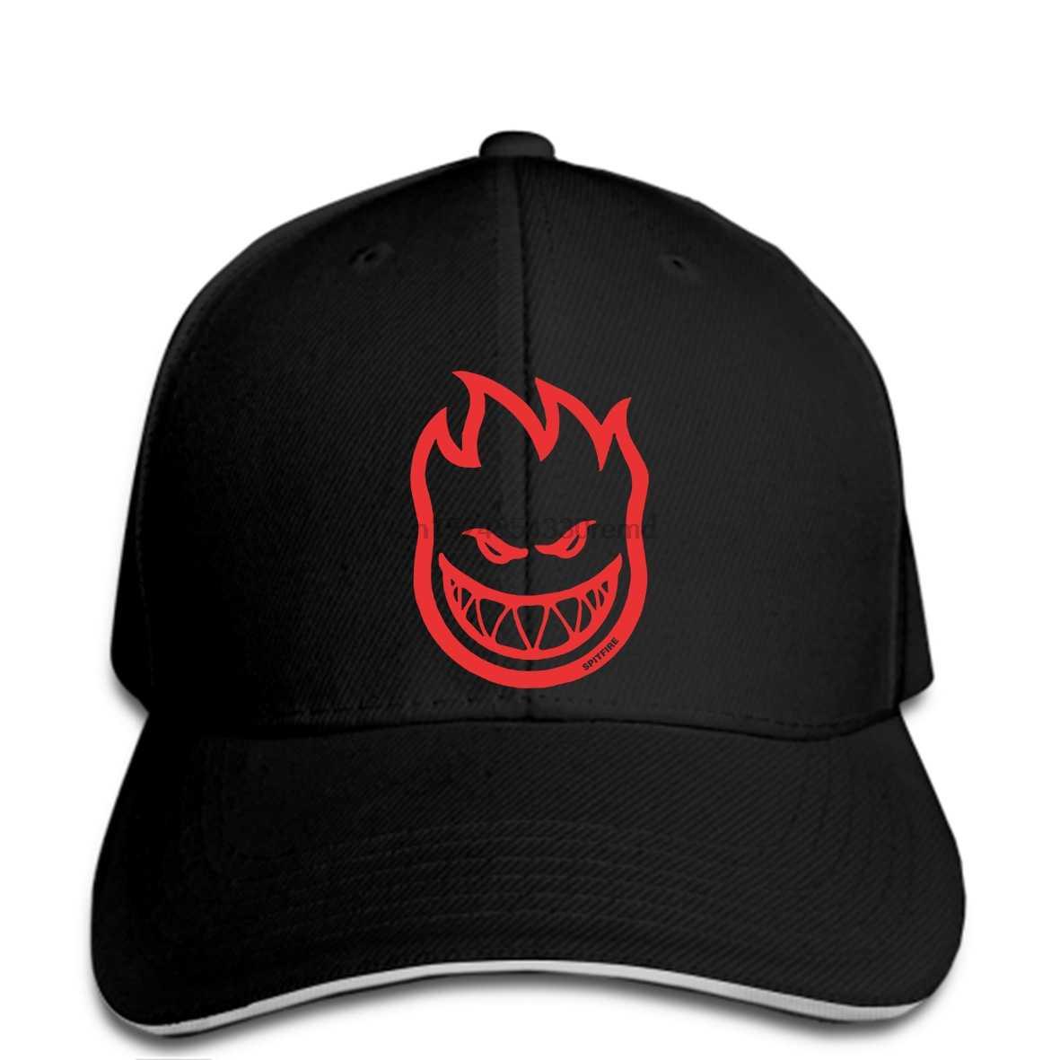 hip hop Baseball caps Funny Men hat cap Black SPITFIRE Maglietta Bighead S  Grigia Silver Mens 09860923830