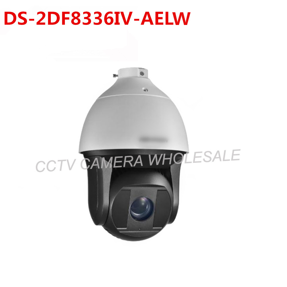 In stock DS-2DF8336IV-AELW English version 3MP Smart PTZ Camera 120db True WDR 36X Optical Zoom  speed dome camera wiper 2017 new ds 2df8836iv aelw english version 4k smart ir ptz camera poe camera with wiper