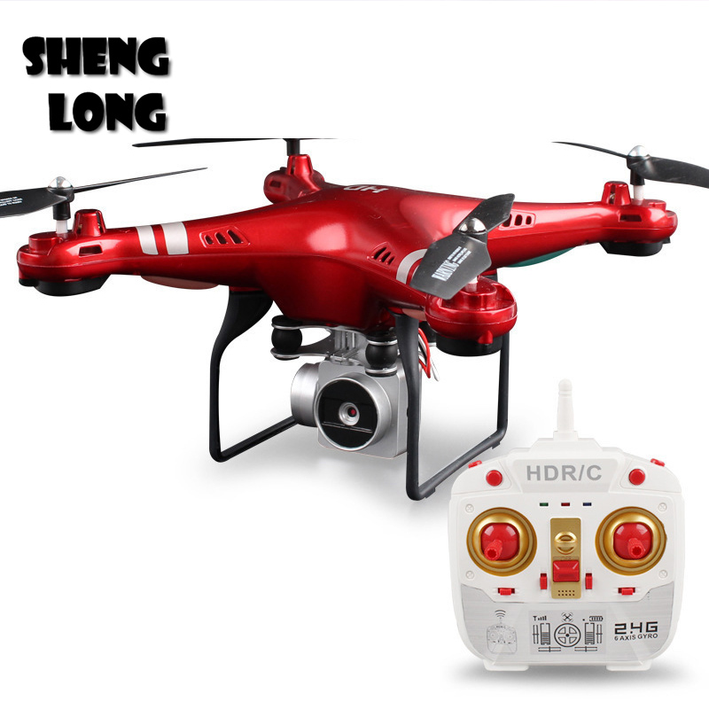 купить SH5HD 1080P RC Drone Toys For Children FPV RC Helicopter Real-time High Range Quadrotor with 5PM Camera for Control Helicopter онлайн