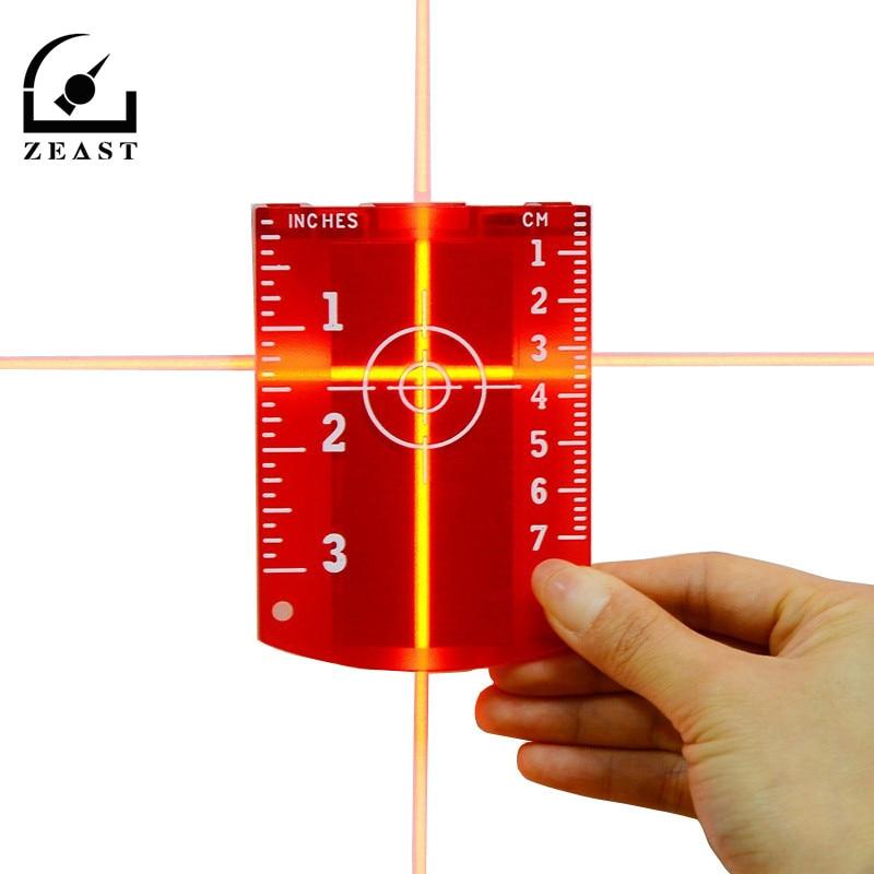 No Burr Magnetic Laser Target Board or Plate for Red Laser Lines or Green Laser Lines