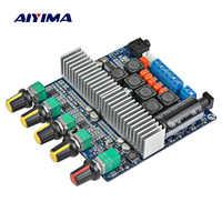 AIYIMA Bluetooth Verstärker TPA3116 D2 2,1 HIFI digital power Montiert hoch-power board 2*50 W + 100 W Subwoofer bass bord