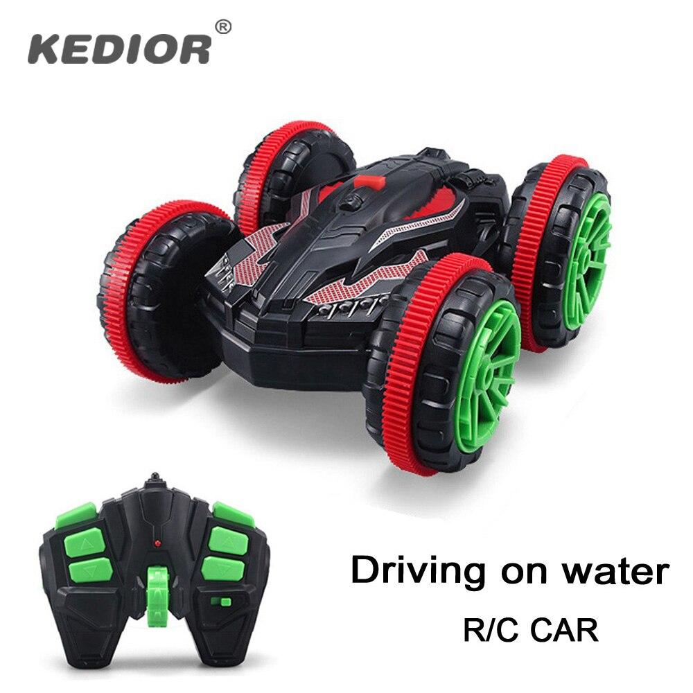 1:18 nitro rc stunt car Off Road Buggy 2.4 г 4WD rc drift автомобиль может ездить на воде Электрический Дистанционное управление игрушки модель для детей