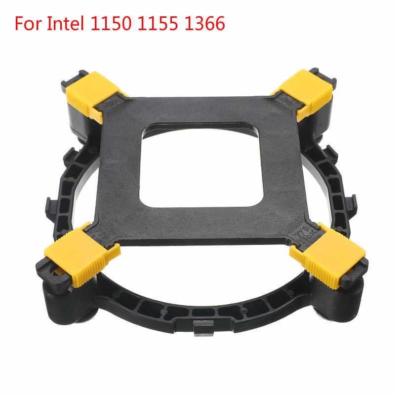 Baru PC Kipas Pendingin Heatsink Pemegang CPU Cooler Braket Sekrup PC Desktop Papan Utama Mount Komponen Kipas untuk Intel 1150 1155 1366