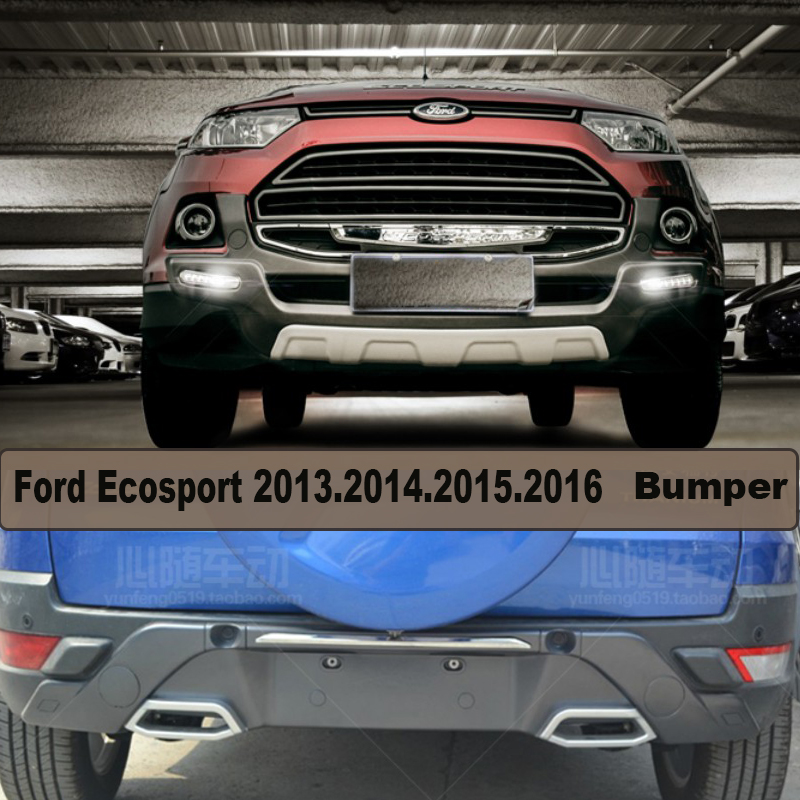 for ford ecosport 2013201420152016bumper protector guard skid plate brand new led light
