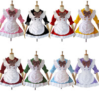 Tree&Sea Women sweet Lolita Apron Dress Maid Madchen Kleid Cosplay Costumes Maid Outfits any size