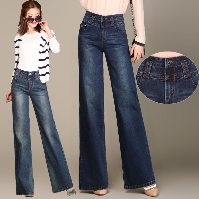 Compare Prices on Wide Leg Ladies Jeans- Online Shopping/Buy Low ...