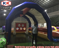 hot commercial inflatable golf shoot cage shoot course