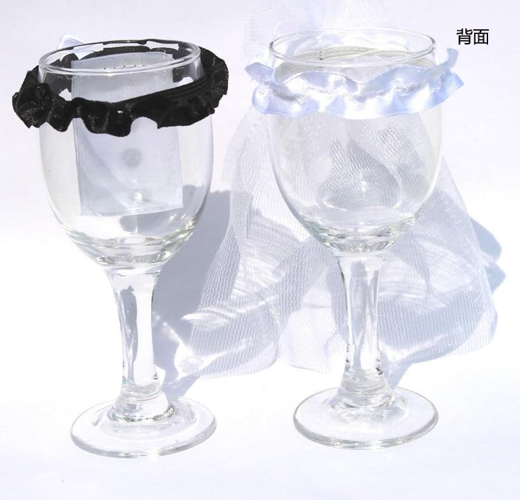 Online buy wholesale decorative wine glasses from china for Decorative wine glasses cheap