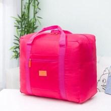 Модные дорожная сумка складная нейлон дорожные сумки унисекс Водонепроницаемый Бизнес поездки дорожные сумки