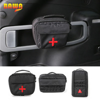 BAWA Tool Kit Storage Bags for Jeep Cherokee 2014 2016 Car First Aid Medical Kit Bag Car Interior Accessories