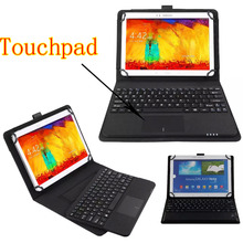Detachable Wireless Bluetooth 3.0 Keyboard With Touchpad+PU Leather Case Cover Stand For samsung galaxy Tab S2 9.7 SM-T810 T815