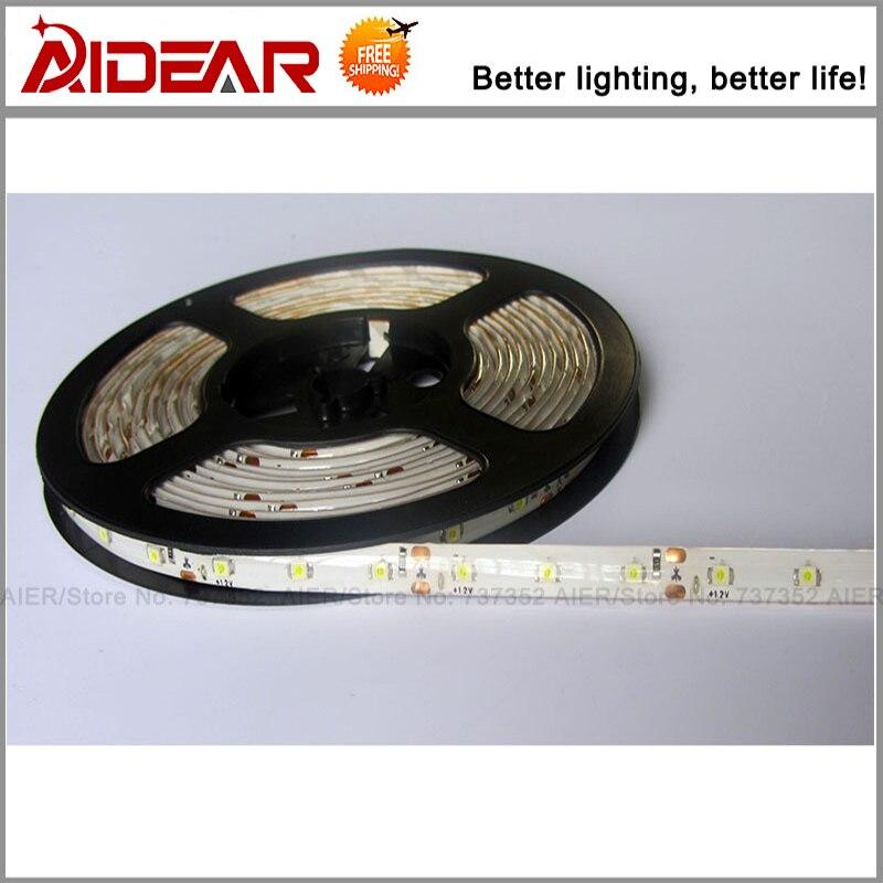 Led Strip Light SMD 5050 WaterProof 12V IP65 300LED / 5M 5M / ROLL, - LED Жарықтандыру - фото 1