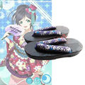 LoveLive! amor Vivo Geta Clog Shoes Zapatos de Anime Cosplay Disfraces de Nueve Miembros