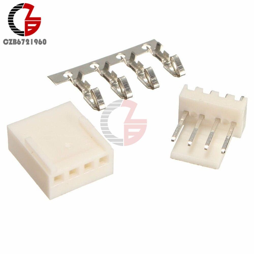 20PCS 4Pin KF2510-4P KF2510 4P 2.54mm Pitch Terminal Housing Header Connectors Adaptor DIY Kits