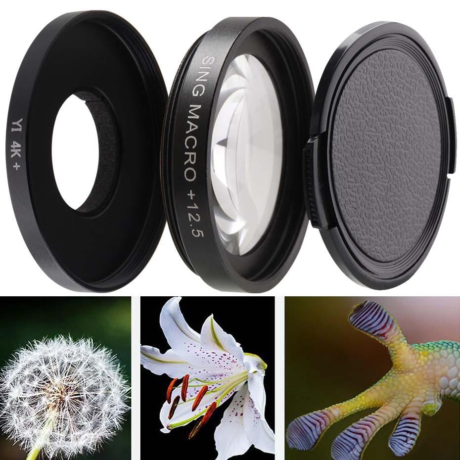 Sing for Xiaomi Xiaoyi Yi II Sport Action Camera Proffesional 4K UV Filter Durable Black