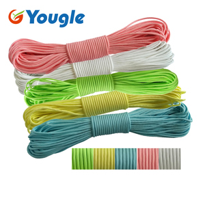 9 Strand Glow In Dark Luminous Paracord 550lb Survival Rope kits Parachute Cord  Wear Resistant 100ft 50ft|glow in dark|glow in dark paracordglow in dark rope -