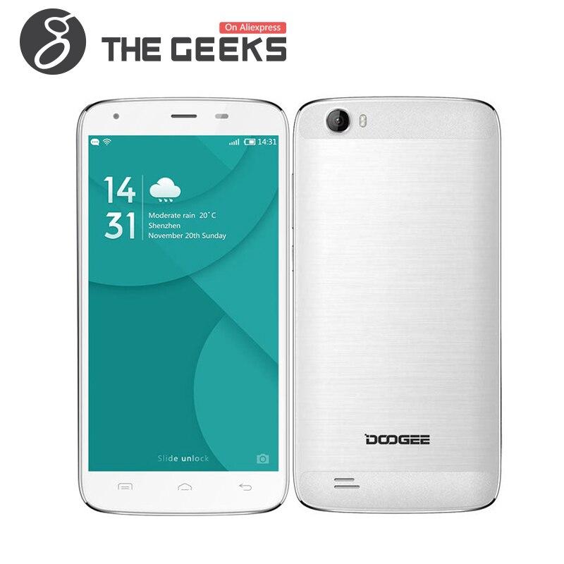 Цена за Оригинал Doogee T6 Pro MTK6753 1.5 Ггц Octa Ядро 5.5 Дюймов HD экран 6250 мАч 3 ГБ RAM 32 ГБ ROM Android 6.0 4 Г LTE Смартфон