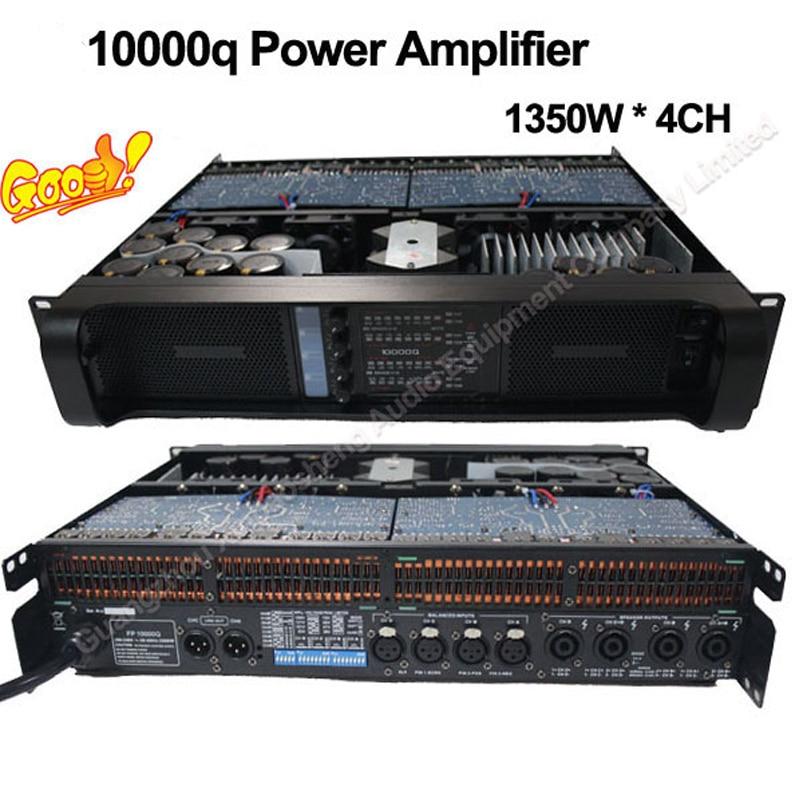 Gruppen line array Power Amplifier 10000q with high power Lab amplifier 1350W 1000 watt power amplifier lab gruppen fp10000q for outdoor activities dj equipment public address power amplifier
