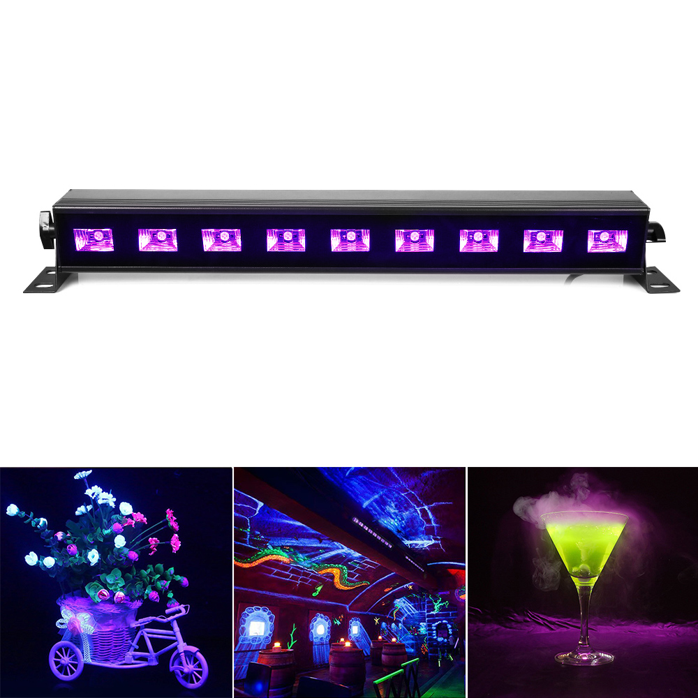 100% Brand New UV Black Light AC90V-240V Led Stage Light Wall Washer Lights for Party,DJ,Show,House Disco Lamps EU/UK/US/AU Plug hot sell 10 unit black light stage uv light uv lamp e40 400w hqv400 laser dancing hand shadow dance for theater party concert